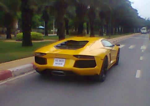 Siêu xe Lamborghini Aventador đầu tiên về Việt Nam