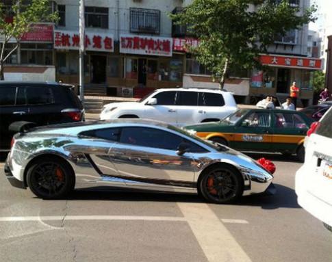 Thêm một đám cưới siêu xe ở Trung Quốc