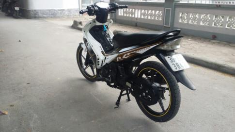 Yamaha Exciter 135cc màu trắng đen 2011 biển 30Z7-3482