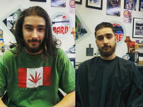Ai bảo chỉ phái đẹp, cánh mày râu cũng lên đời nhan sắc nhờ thay đổi kiểu tóc