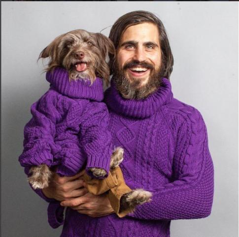 Anh chàng: Người yêu không có nhưng cún cưng nhất định phải mặc đẹp