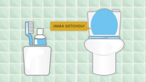 Bạn sẽ không bao giờ 'nấu cháo' điện thoại trong WC khi biết sự thật kinh khủng này