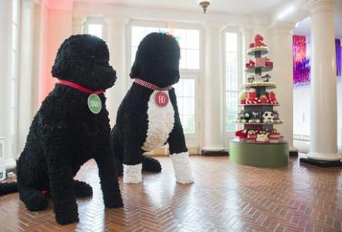 Choáng váng khi nhìn không gian Giáng sinh Nhà Trắng do đệ nhất phu nhân Obama trang trí