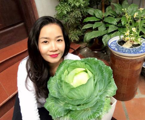 Chồng ngộ độc vì ăn rau sạch siêu thị, 8X xinh đẹp Hà Nội quyết tâm tự trồng rau tại nhà