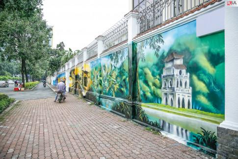Con đường Graffiti mang Hà Nội, Hội An đến giữa lòng Sài Gòn