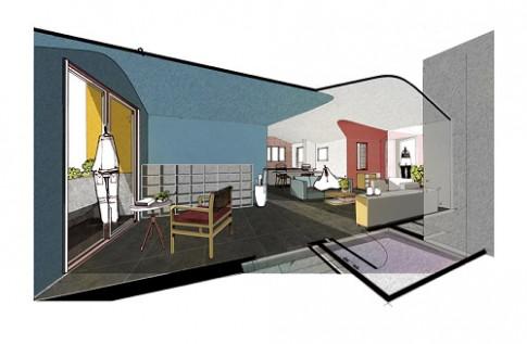 Gợi ý thiết kế không gian sống ngập màu sắc cho những gia đình có trẻ nhỏ