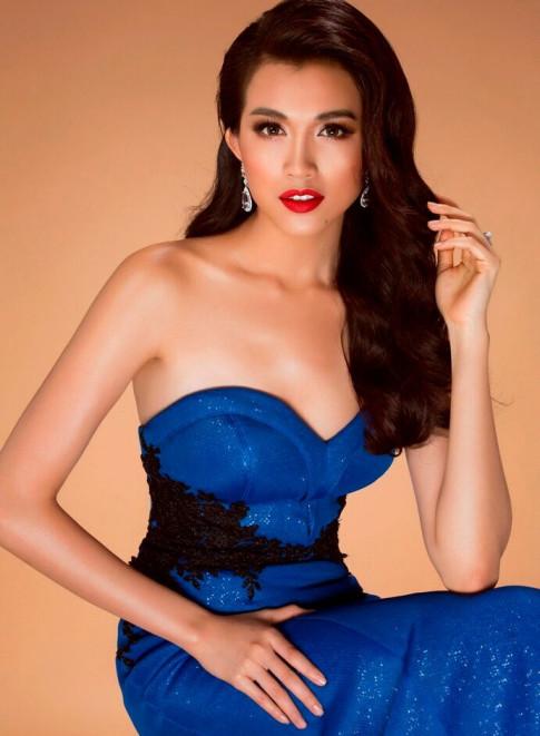 Lệ Hằng đẹp khó cưỡng trước bán kết Miss Universe 2016