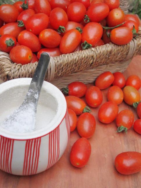 Mứt cà chua bi ngọt ngào đón Tết