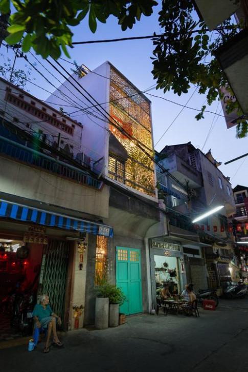 Ngắm căn nhà 3m mặt tiền ở Sài Gòn mà cứ ngỡ rộng hàng nghìn mét vuông