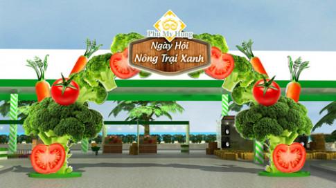 Ngày hội Nông trại Xanh 2016 tại Phú Mỹ Hưng.