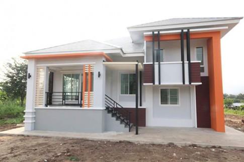 Ngôi nhà cấp 4 giá rẻ kiểu Thái tại Nghệ An sang trọng ngang khách sạn 3 sao