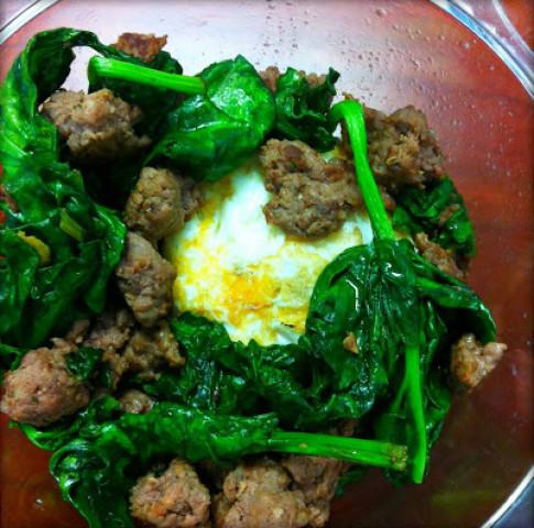 Nhật ký 10 ngày lowcarb: 4 bữa ăn đơn giản