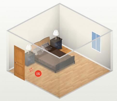 Phong thủy phòng ngủ: Cấm kị giường ngủ đối diện cửa và cách hóa giải