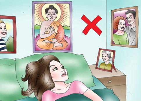 Phong thủy phòng ngủ: Nói mãi vẫn sai bảo sao lâm bệnh, tiền bạc tiêu biến
