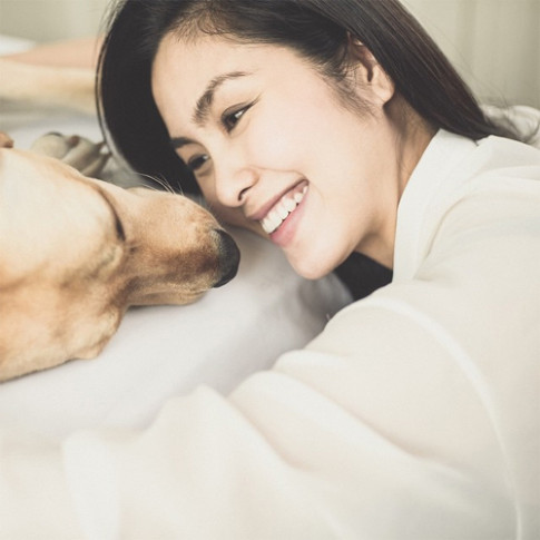 Sao Việt và những khoảnh khắc bên thú cưng đẹp đến mê lòng