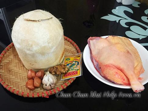 Vịt khìa nước dừa đậm đà đưa cơm