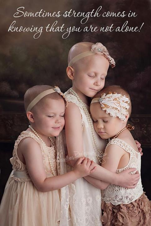 3 bé gái ung thư đẹp như thiên thần năm 2014 giờ ra sao?