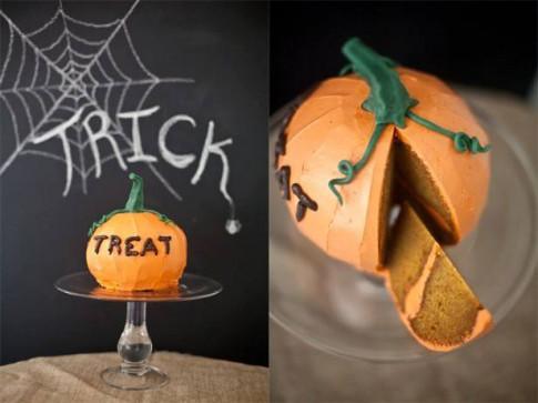 """Bánh bí ngô """"thần thánh"""" đón Halloween"""