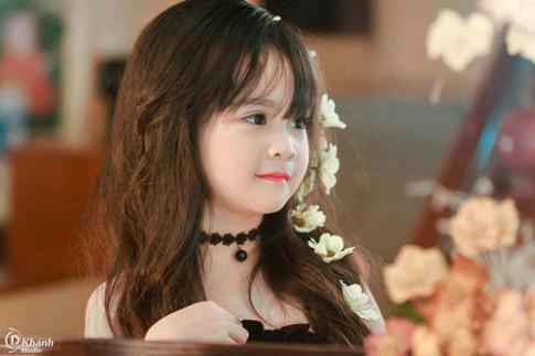 """Bé gái Tuyên Quang 6 tuổi xinh đẹp như """"thiên thần trong truyện tranh"""""""