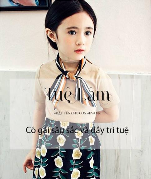 Bộ tên đẹp, ý nghĩa hay cho bé gái sinh năm 2016 vần từ L-Y