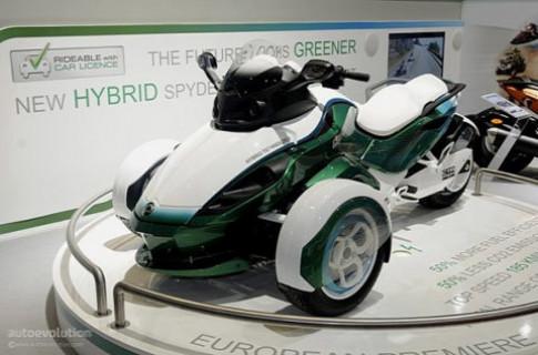 Can-Am Spyder Hybrid trình làng tại Geneva