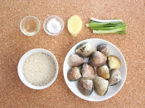 Cháo ngao thơm ngon, bổ dưỡng cho bữa sáng