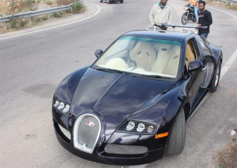 Độ xe mini thành Bugatti Veyron