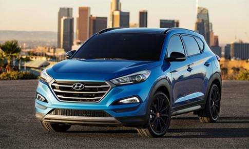 Hyundai giới thiệu Tucson phiên bản bóng đêm