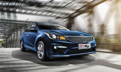 Kia K2 2017 - sedan mới cạnh tranh Vios tại Trung Quốc