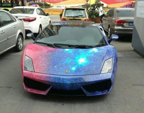 Lamborghini Gallardo độ phiên bản bầu trời