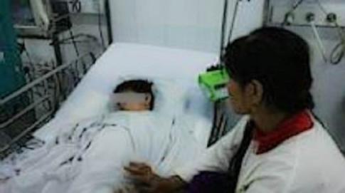 Lọc máu cứu sống bé 6 tuổi bị ong vò vẽ đốt 112 mũi