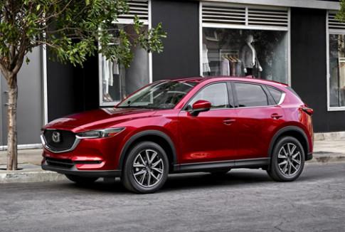 Mazda CX-5 thế hệ mới - thay đổi để cạnh tranh CR-V