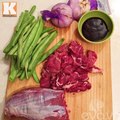 Ngon cơm với thịt bò xào đậu sốt dầu hào