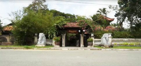 Nhà vườn Huế thuần khiết của họa sĩ Hoài Hương