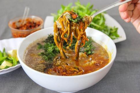 Nhớ lắm cháo lươn xanh Quảng Nam