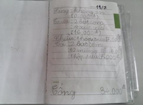 Phát cuồng với 'Nhật ký ăn uống' siêu tiết kiệm của cậu bé 8 tuổi