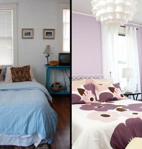 Phòng ngủ khoác áo hoa đẹp mê người
