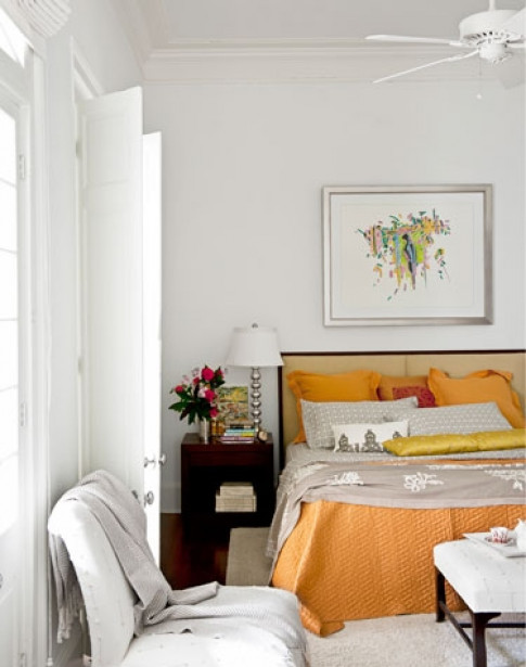 Phòng ngủ tinh tế cho tình nhân mê đắm