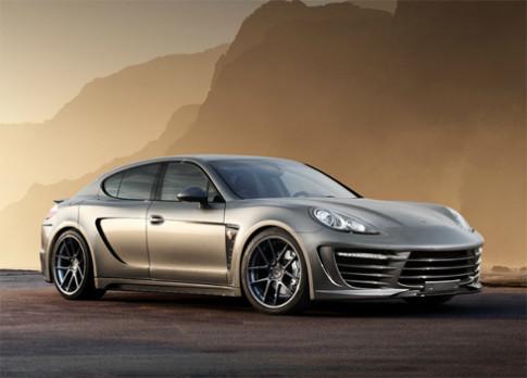 Porsche Panamera độ nội thất siêu sang