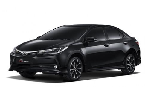 Toyota Altis 2017 giá từ 22.600 USD tại Thái Lan
