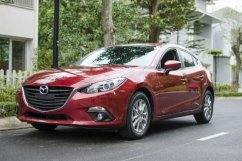Trường Hải triệu hồi 16.000 xe Mazda3