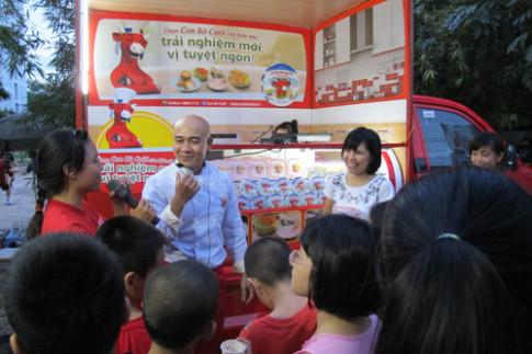 Xu hướng nấu ăn với phô mai cùng Vua đầu bếp Thanh Hòa.