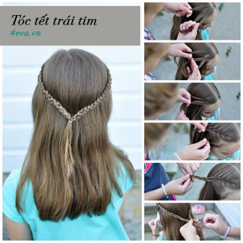 7 kiểu tóc đẹp cực dễ làm cho bé gái đi khai giảng năm học mới