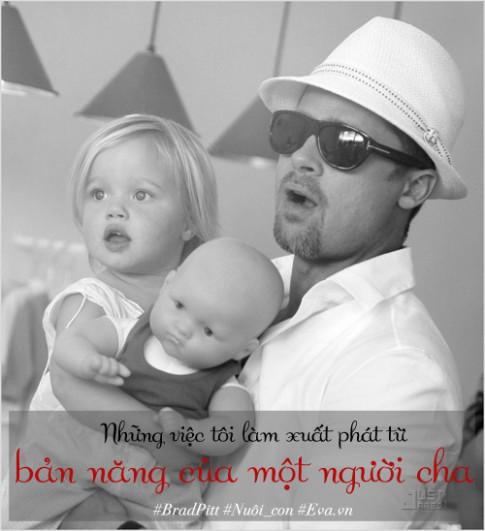 """Chăm 6 con từ A - Z thế này, Brad Pitt vẫn bị vợ """"đá"""""""