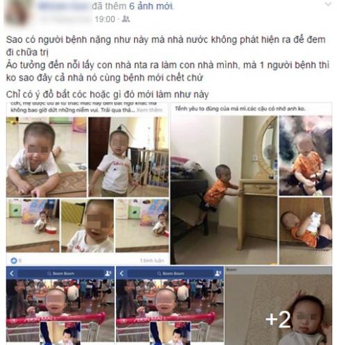 Đăng ảnh con lên facebook, mẹ Việt tá hỏa thấy con bị người lạ nhận vơ