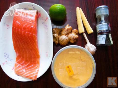 Đổi vị bữa cơm với cá hồi sốt bơ chanh