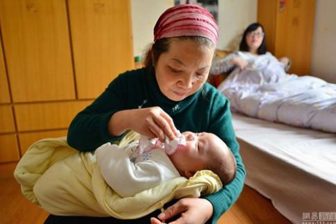 Giúp việc chăm trẻ ở Thượng Hải lương 50 triệu/tháng