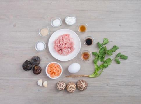 Mê mẩn với nấm nhồi thịt hấp