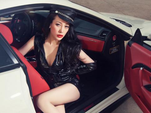 Người đẹp bên Maserati