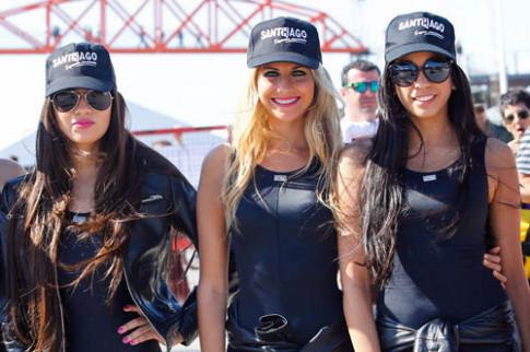 Người đẹp đọ dáng tại MotoGP 2014